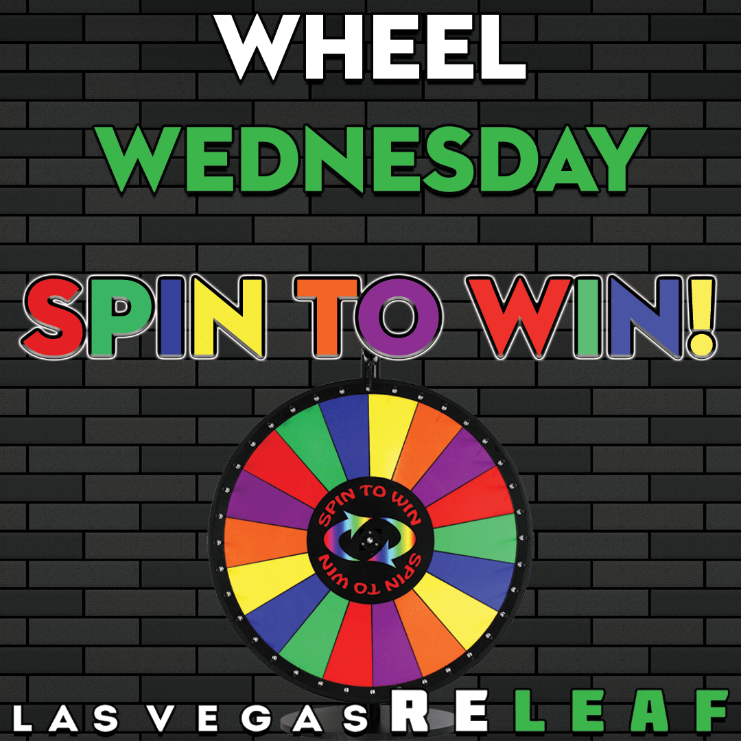 Spend $70 and Spin-to-Win on Wheel Wednesday